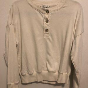 American Eagle cropped sweatshirt